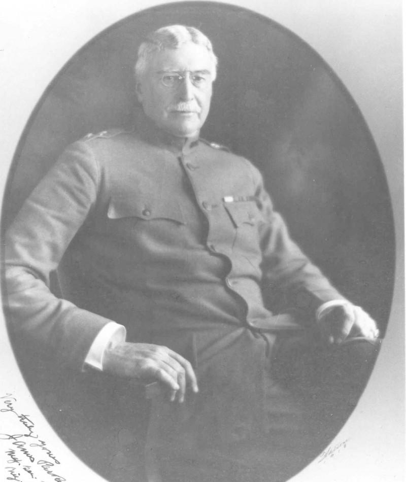 Medal of Honor Recipient James Parker