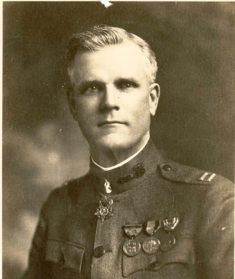 Medal of Honor Recipient Frank L. Anders