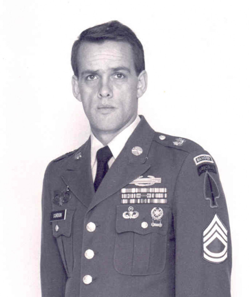 Medal of Honor Recipient Gary I. Gordon