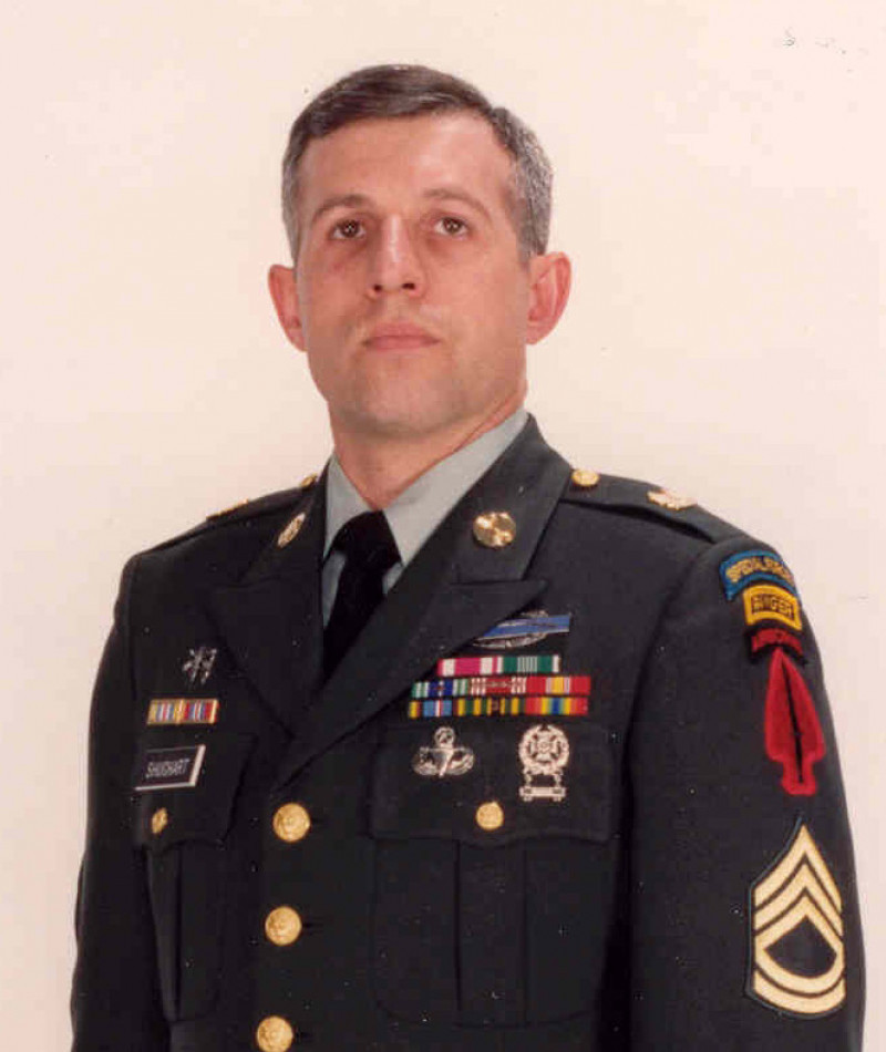 Medal of Honor Recipient Randall D. Shughart