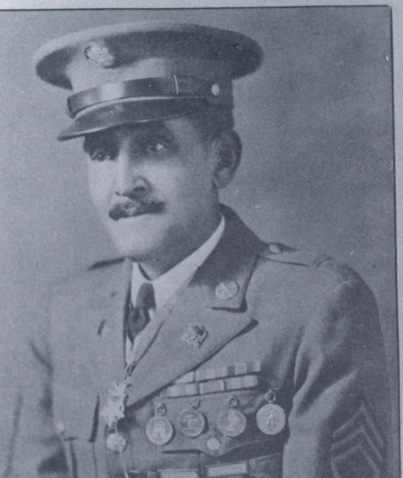 Medal of Honor Recipient George H. Wanton