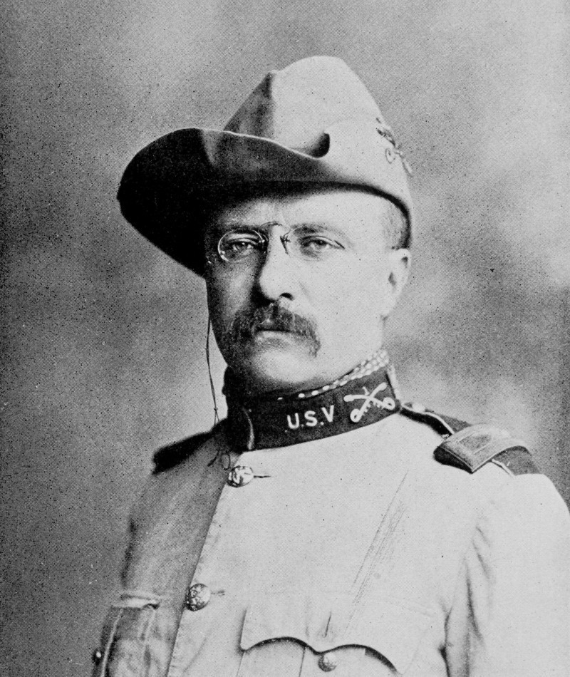 Medal of Honor Recipient Theodore Roosevelt