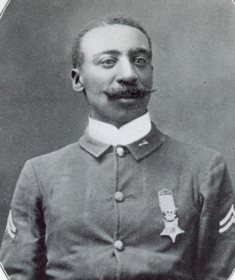 Medal of Honor Recipient William H. Thompkins