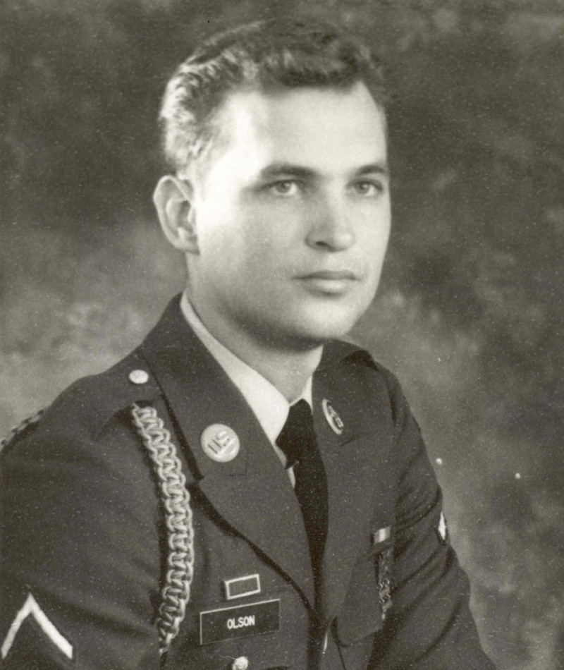 Medal of Honor Recipient Kenneth L. Olson