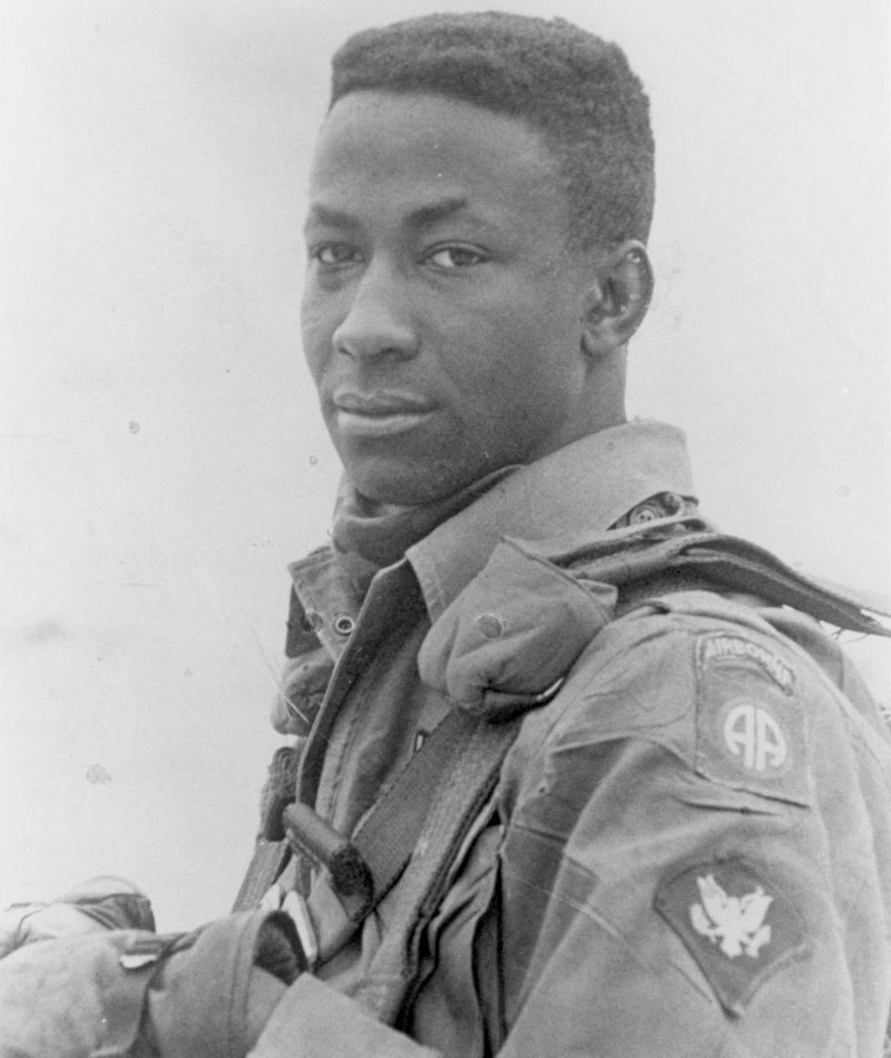 Medal of Honor Recipient Clifford C. Sims