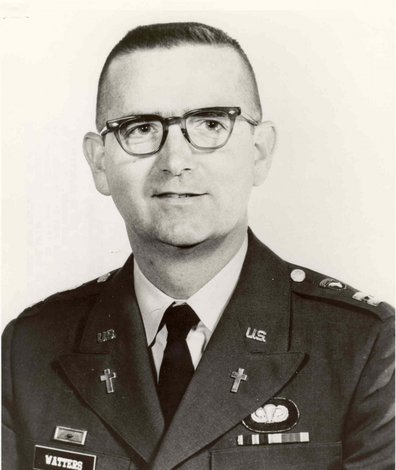 Medal of Honor Recipient Charles J. Watters