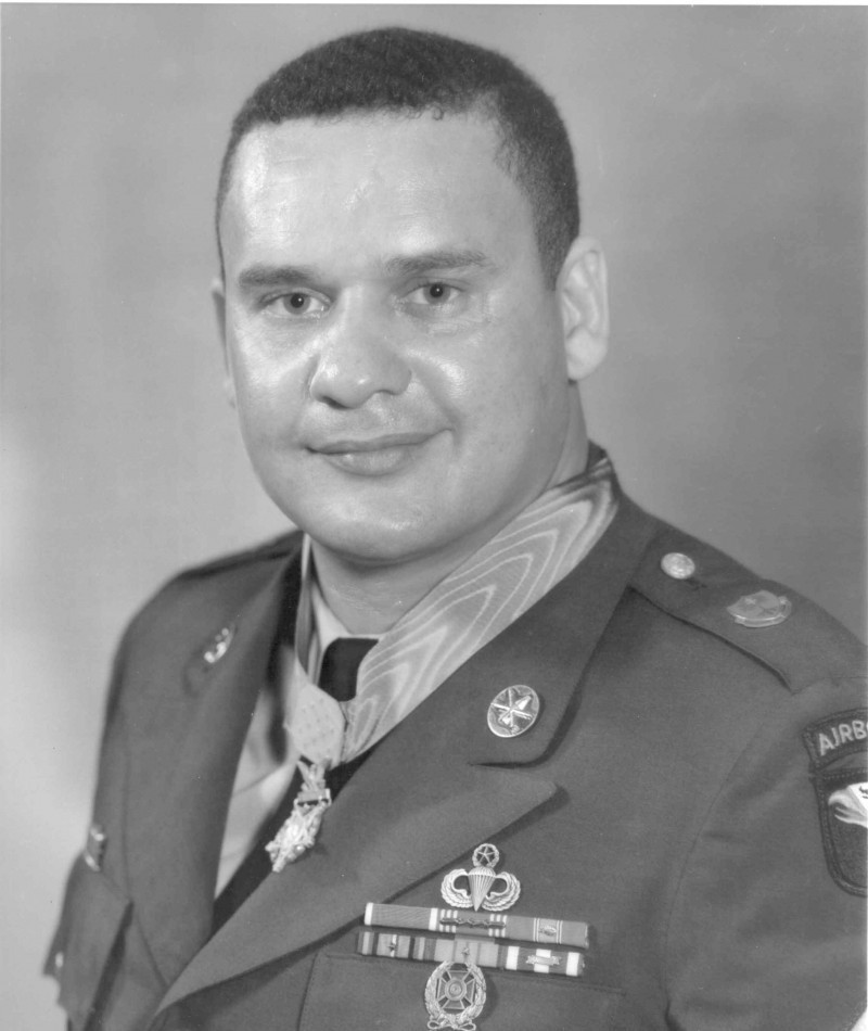 Medal of Honor Recipient Webster Anderson