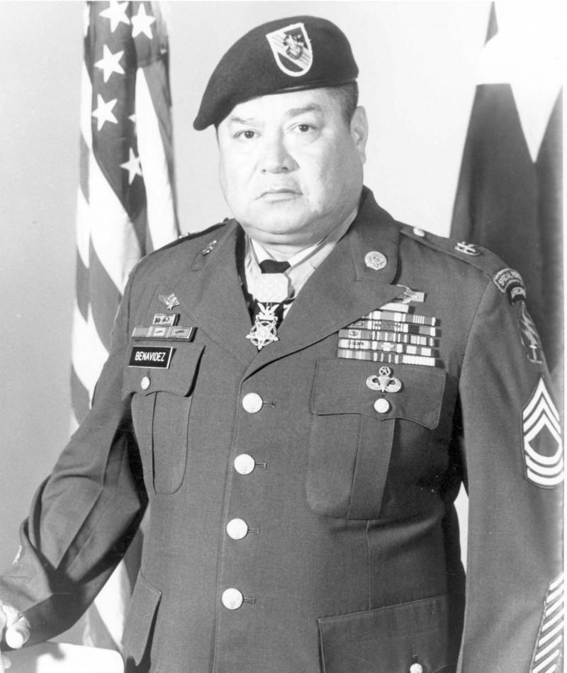 Medal of Honor Recipient Roy P. Benavidez