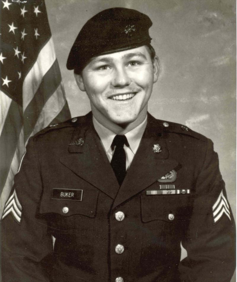 Medal of Honor Recipient Brian L. Buker