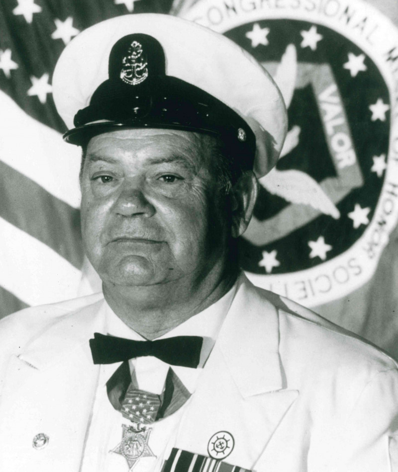 Medal of Honor Recipient James E. Williams