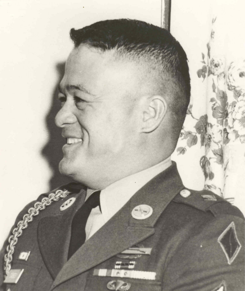 Medal of Honor Recipient Maximo Yabes