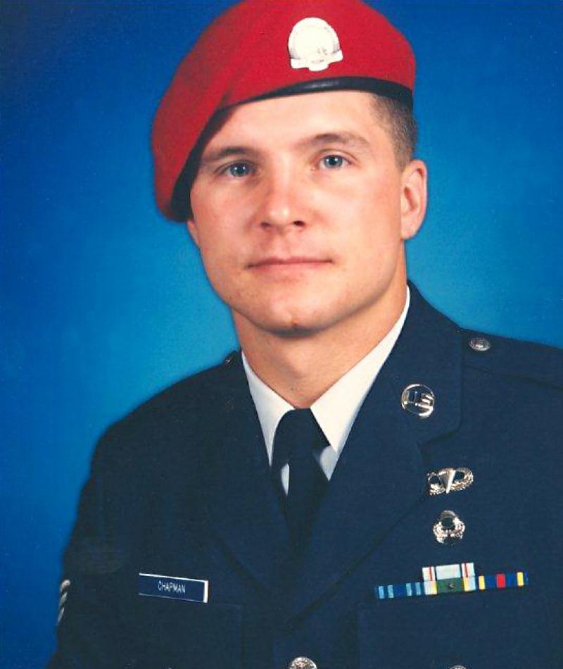 Medal of Honor Recipient John A. Chapman