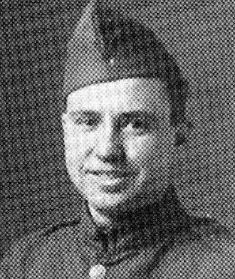 Medal of Honor Recipient Calvin J. Ward