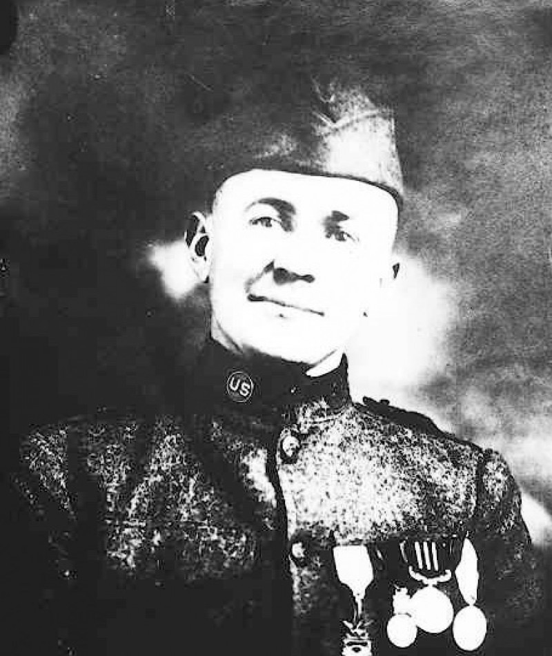Medal of Honor Recipient Edward R. Talley