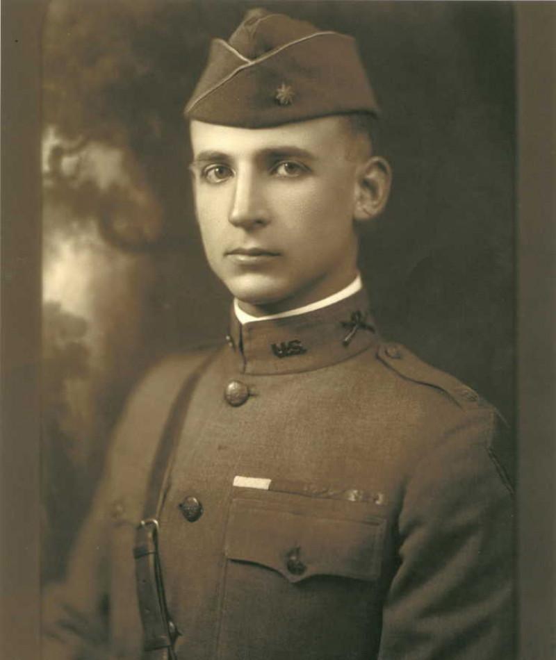 Medal of Honor Recipient Edward C. Allworth