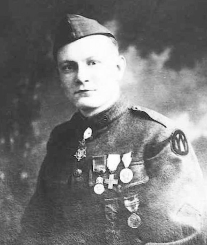 Medal of Honor Recipient Harold I. Johnston
