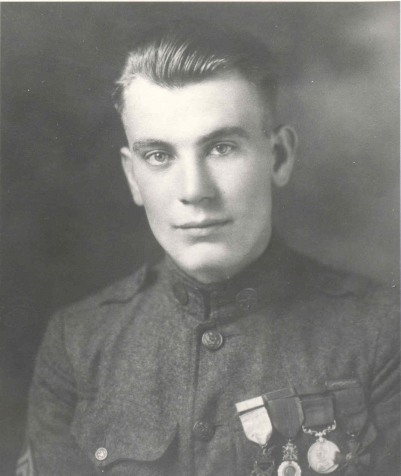 Medal of Honor Recipient Thomas A. Pope