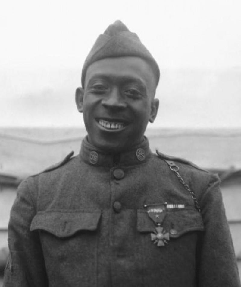 Medal of Honor Recipient Henry Johnson