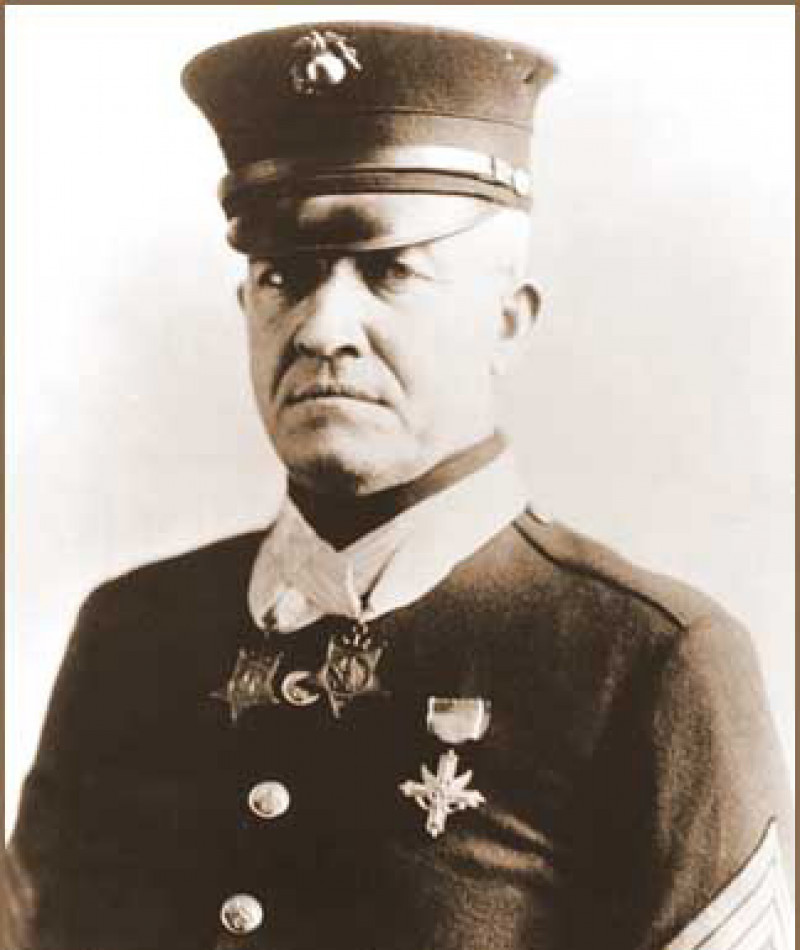 Medal of Honor Recipient Daniel J. Daly