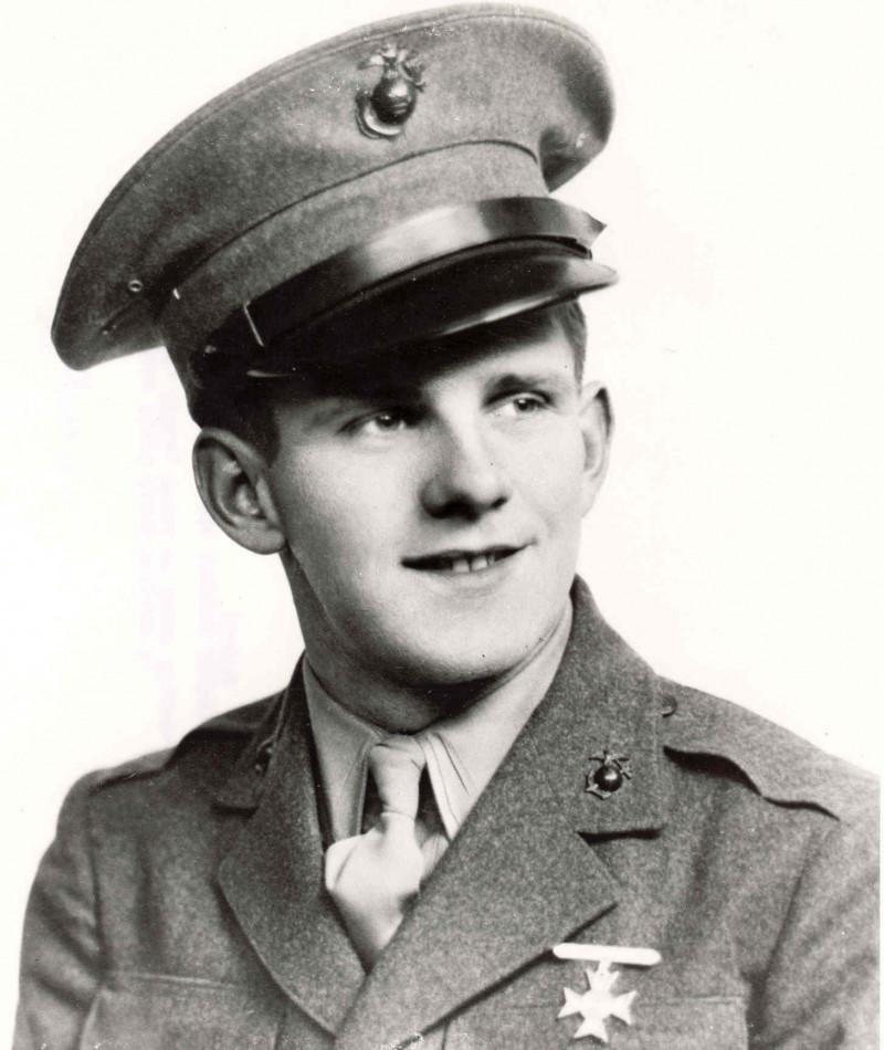 Medal of Honor Recipient William R. Caddy