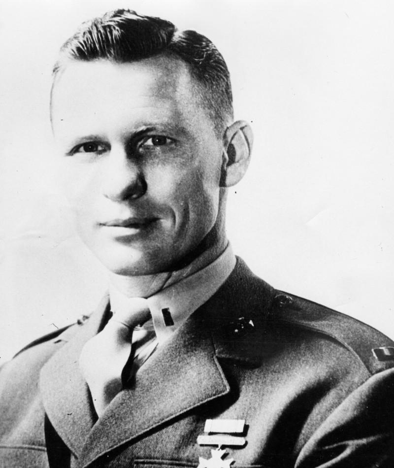 Medal of Honor Recipient Jack Lummus