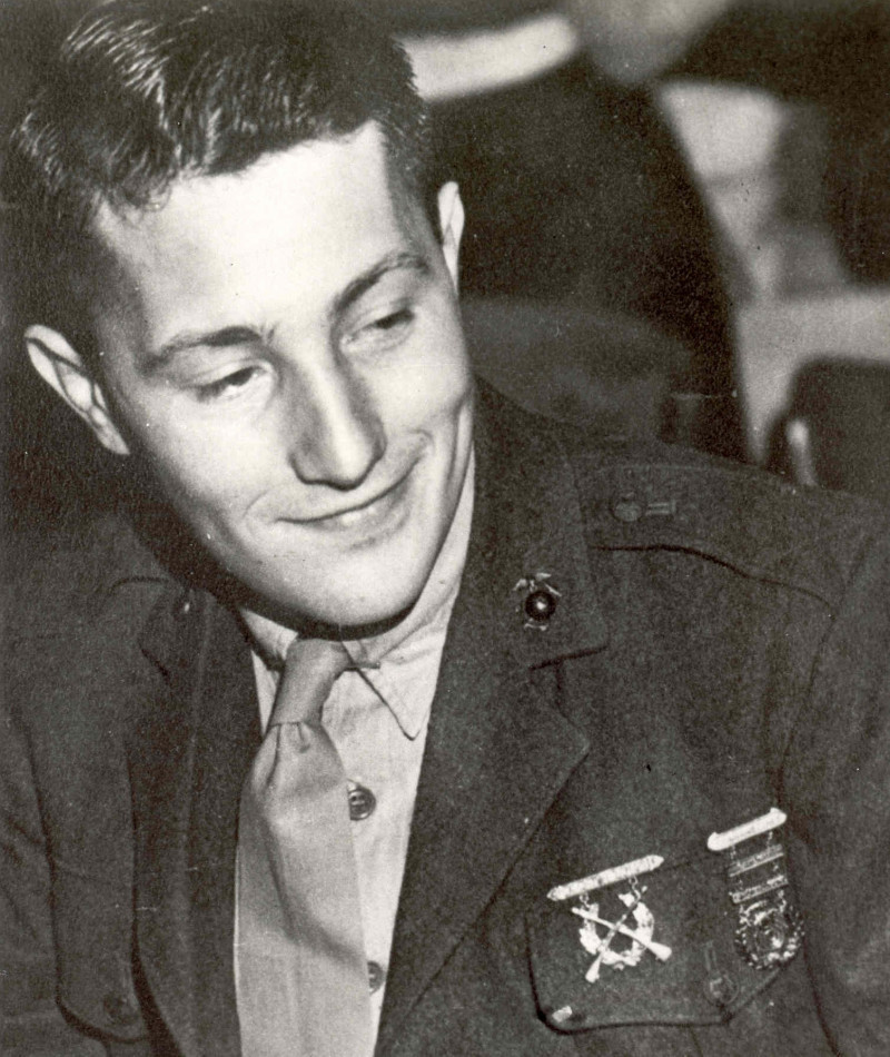 Medal of Honor Recipient Richard B. Anderson