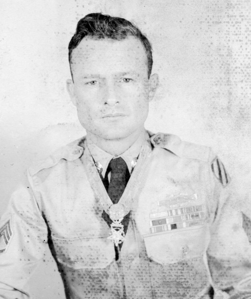 Medal of Honor Recipient Paul L. Bolden