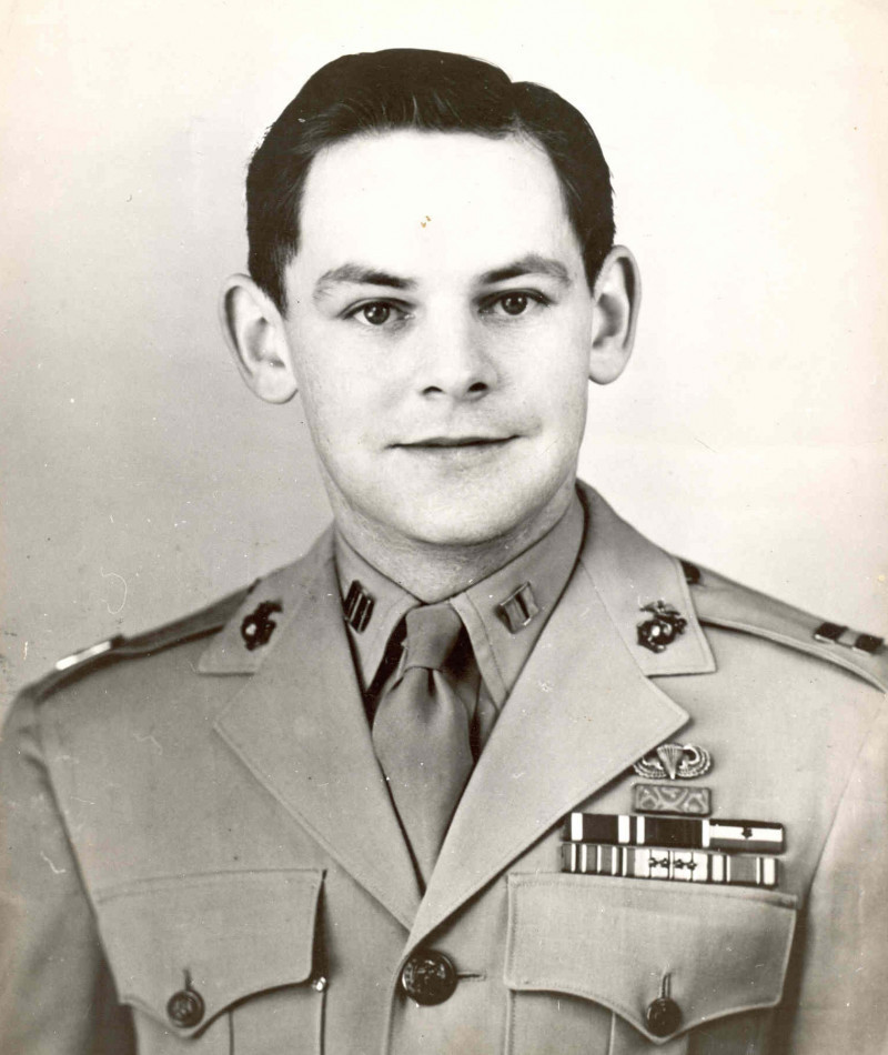 Medal of Honor Recipient Robert H. Dunlap