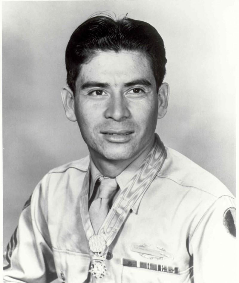 Medal of Honor Recipient Marcario Garcia