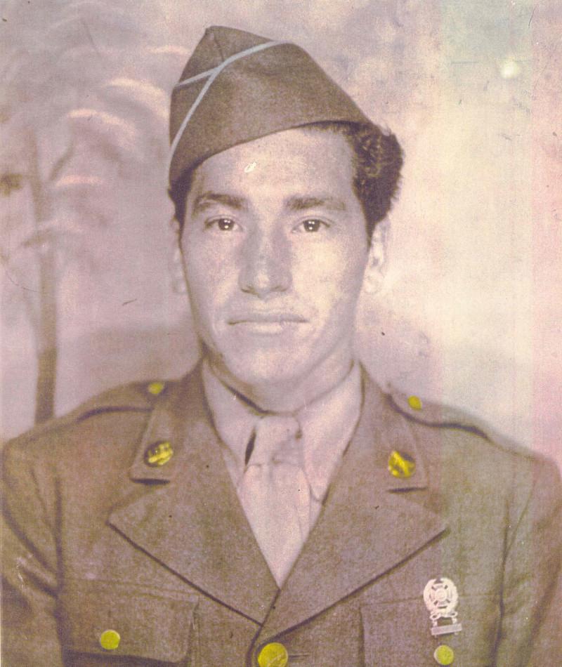 Medal of Honor Recipient David M. Gonzales