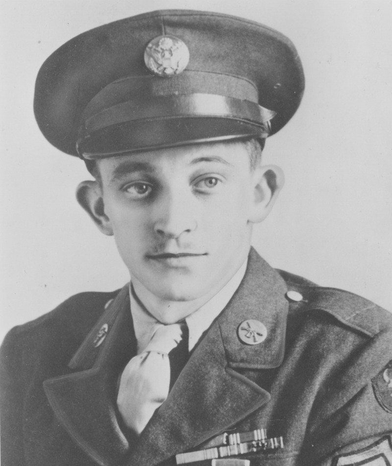 Medal of Honor Recipient George J. Hall