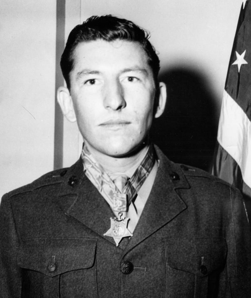 Medal of Honor Recipient William G. Harrell