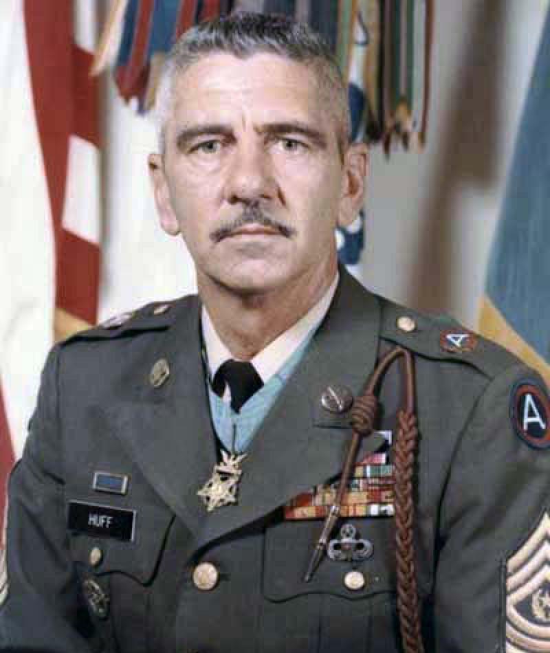Medal of Honor Recipient Paul B. Huff