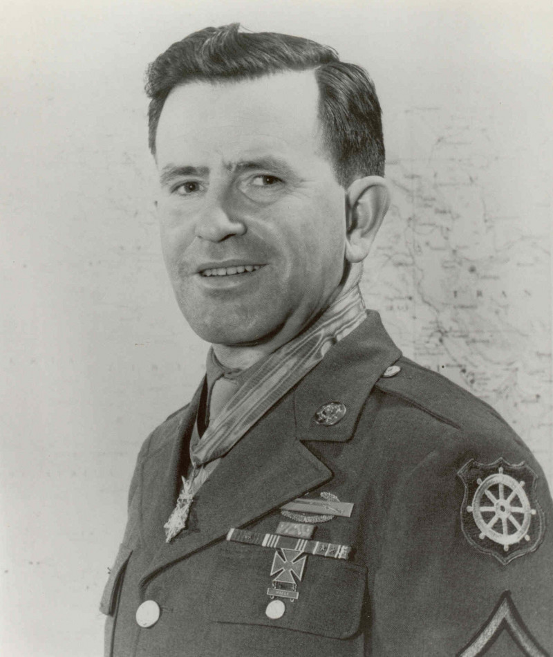 Medal of Honor Recipient Leo J. Powers