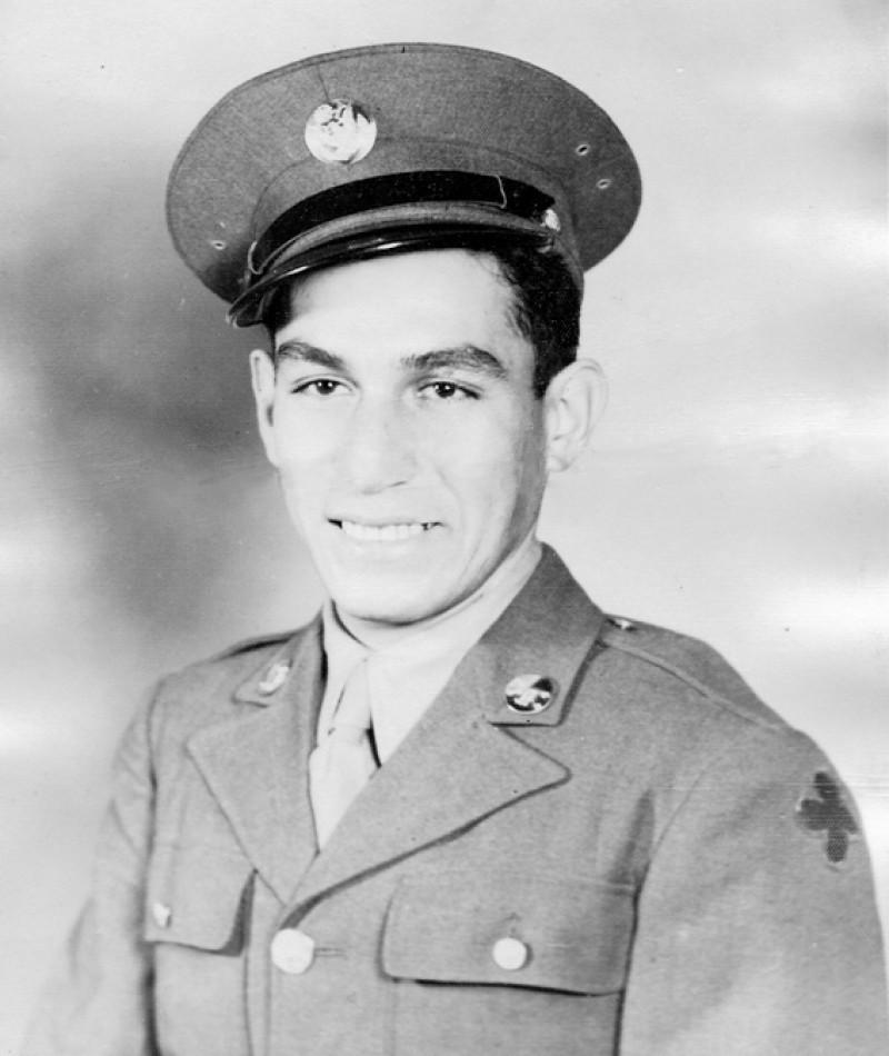 Medal of Honor Recipient Manuel V. Mendoza