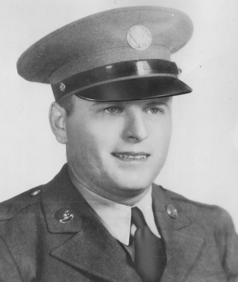 Medal of Honor Recipient Anton L. Krotiak