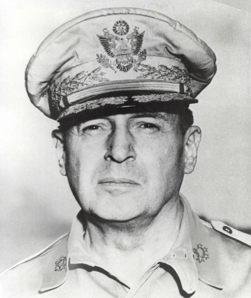 Medal of Honor Recipient Douglas MacArthur