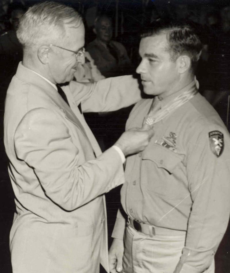 Medal of Honor Recipient Lloyd G. McCarter
