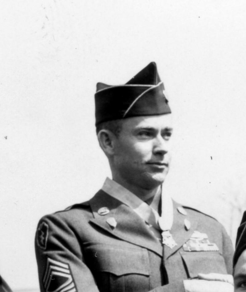 Medal of Honor Recipient Charles L. McGaha