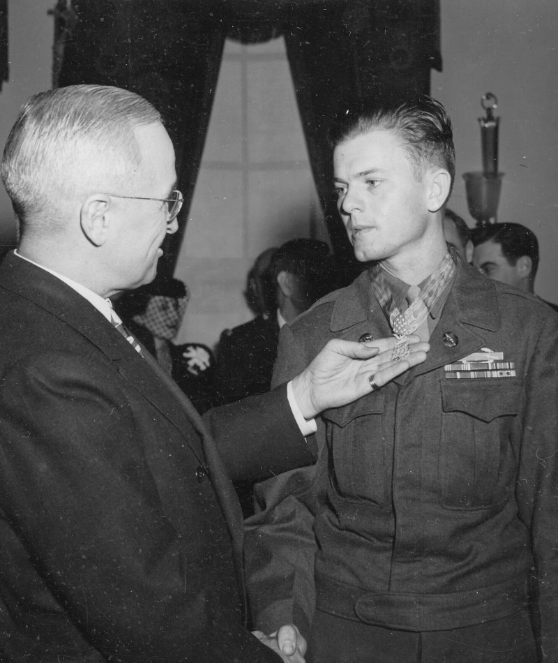 Medal of Honor Recipient John R. McKinney