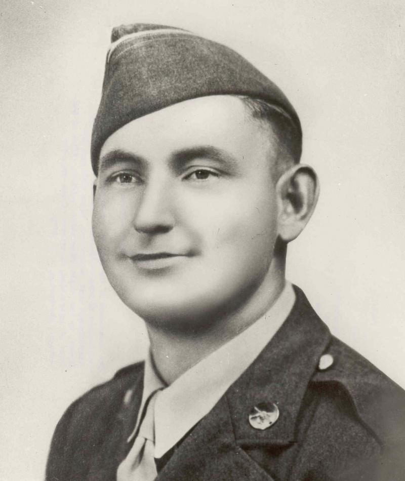 Medal of Honor Recipient Andrew Miller