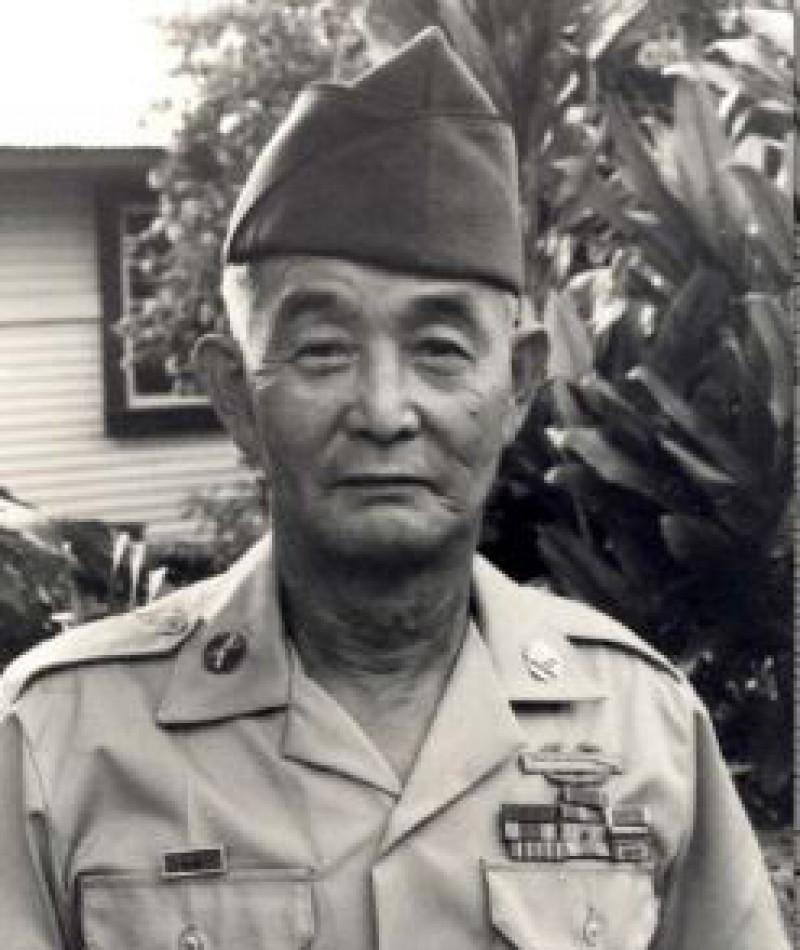 Medal of Honor Recipient Kaoru Moto