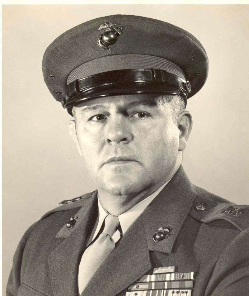 Medal of Honor Recipient David M. Shoup