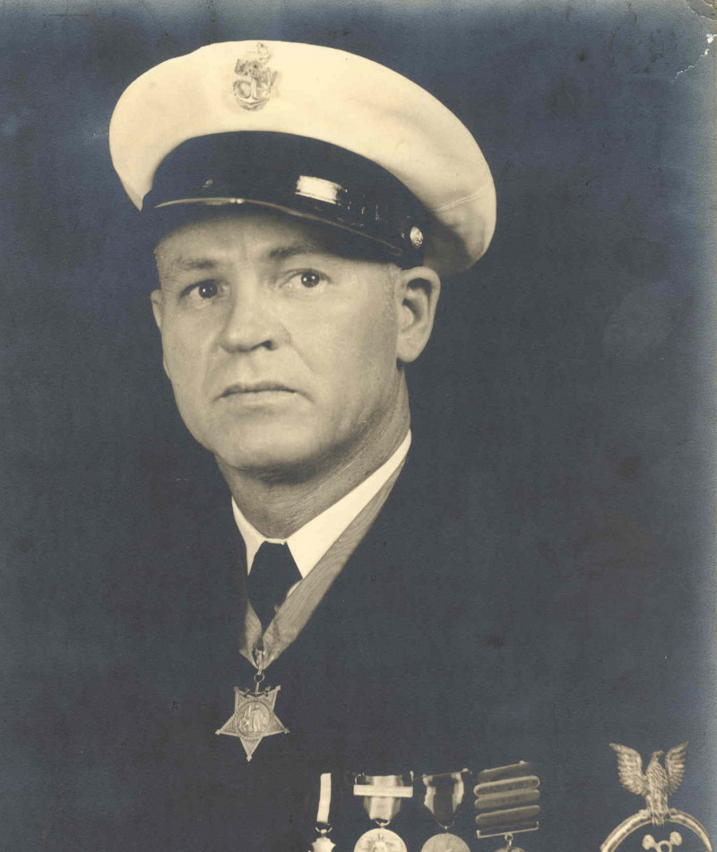 Medal of Honor Recipient William Badders