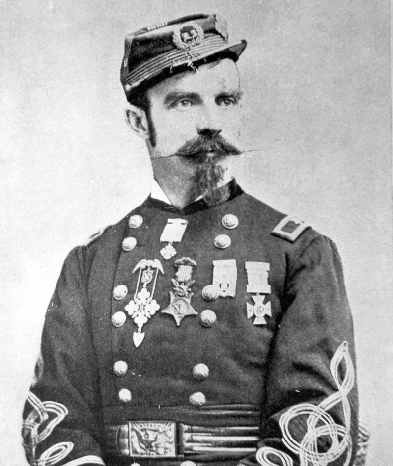 Medal of Honor Recipient James M. Drake