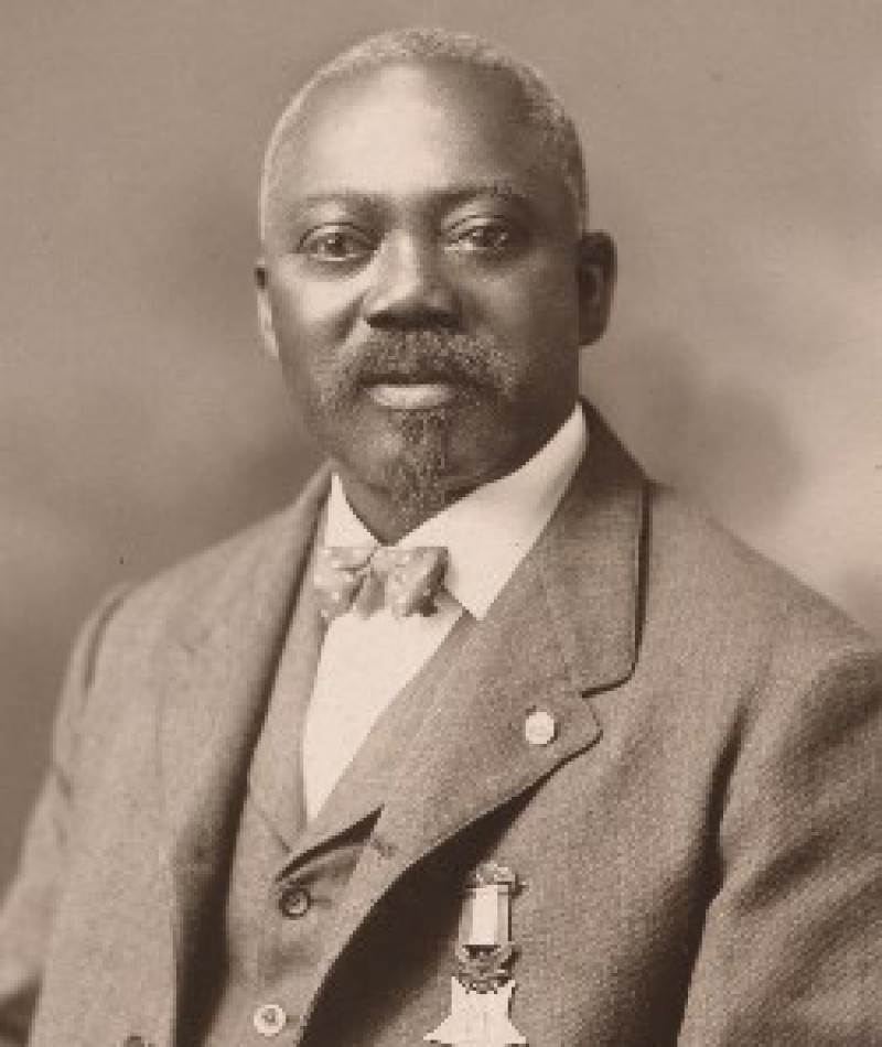 Medal of Honor Recipient William H. Carney