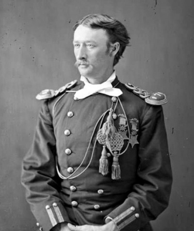 Medal of Honor Recipient Thomas W. Custer