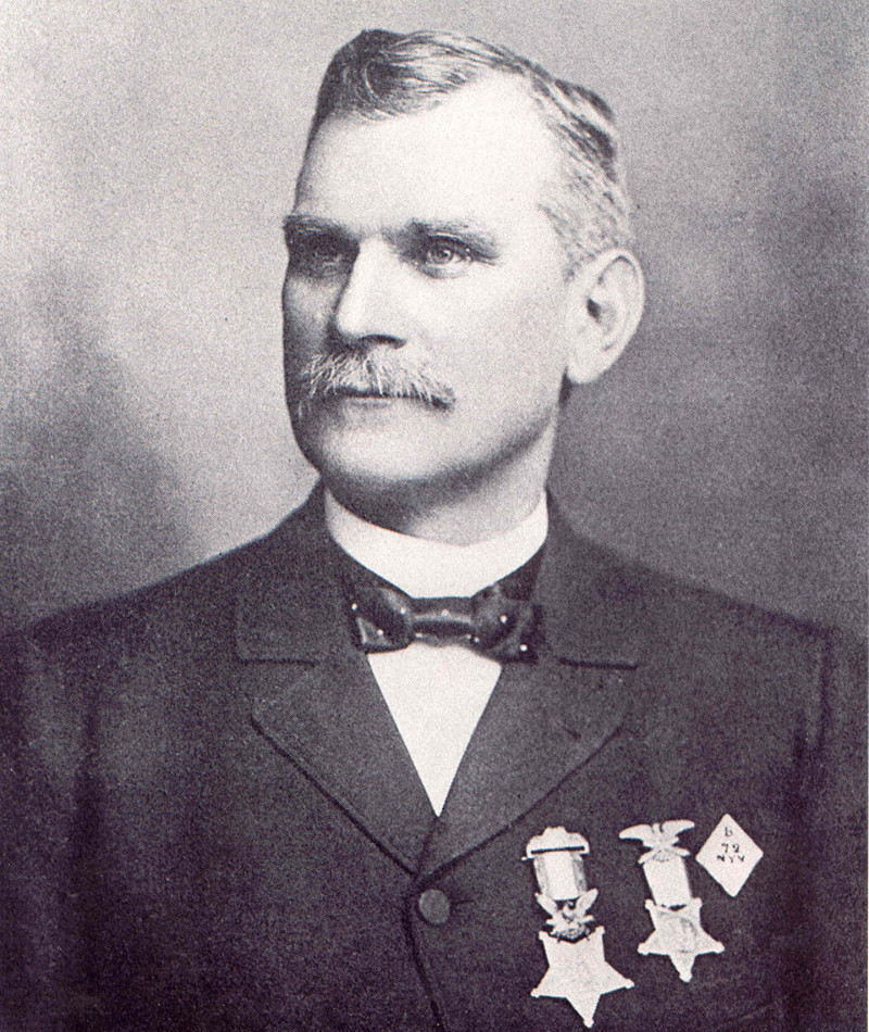 Medal of Honor Recipient James M. Young