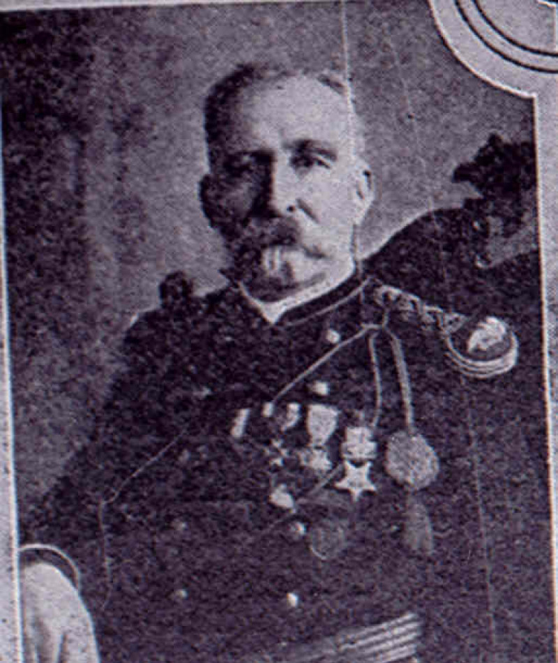 Medal of Honor Recipient William R. Parnell