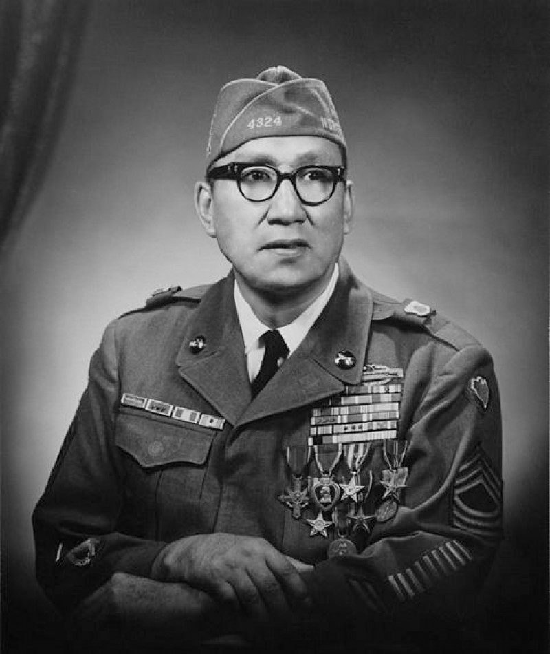 Medal of Honor Recipient Woodrow W. Keeble